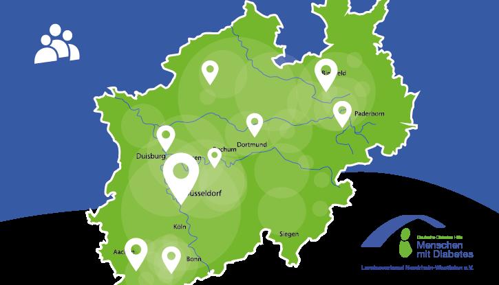 Karte aller Selbsthilfegruppen